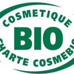 Logo du label Cosmebio gérant les produits biologiques de la comestique.